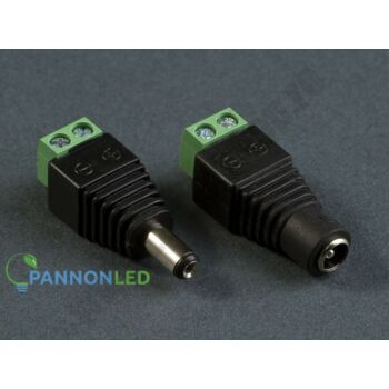 Conectori - PannonLED - PLed-MTL-DC-Female - Accessori pt Banda de LED