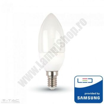 Bec cu Samsung-LED E14 7W Lumina naturala VtacPro - SKU-112